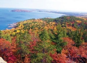our view over Lake Superior