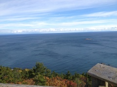 view over Lake Superior