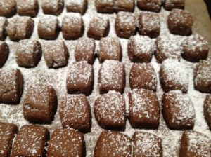 danish pebernodder cookies